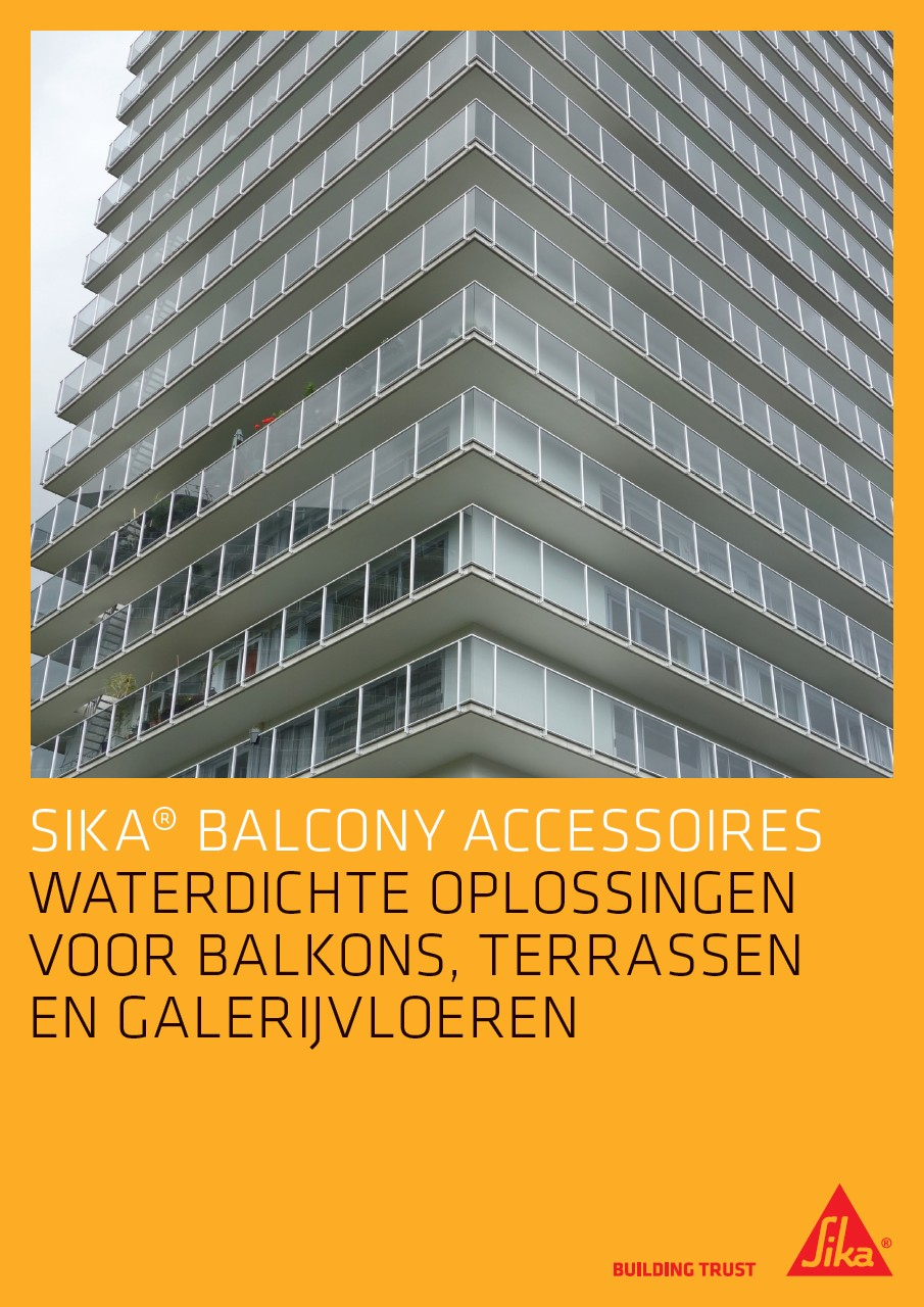 Sika® Balcony Accessoires