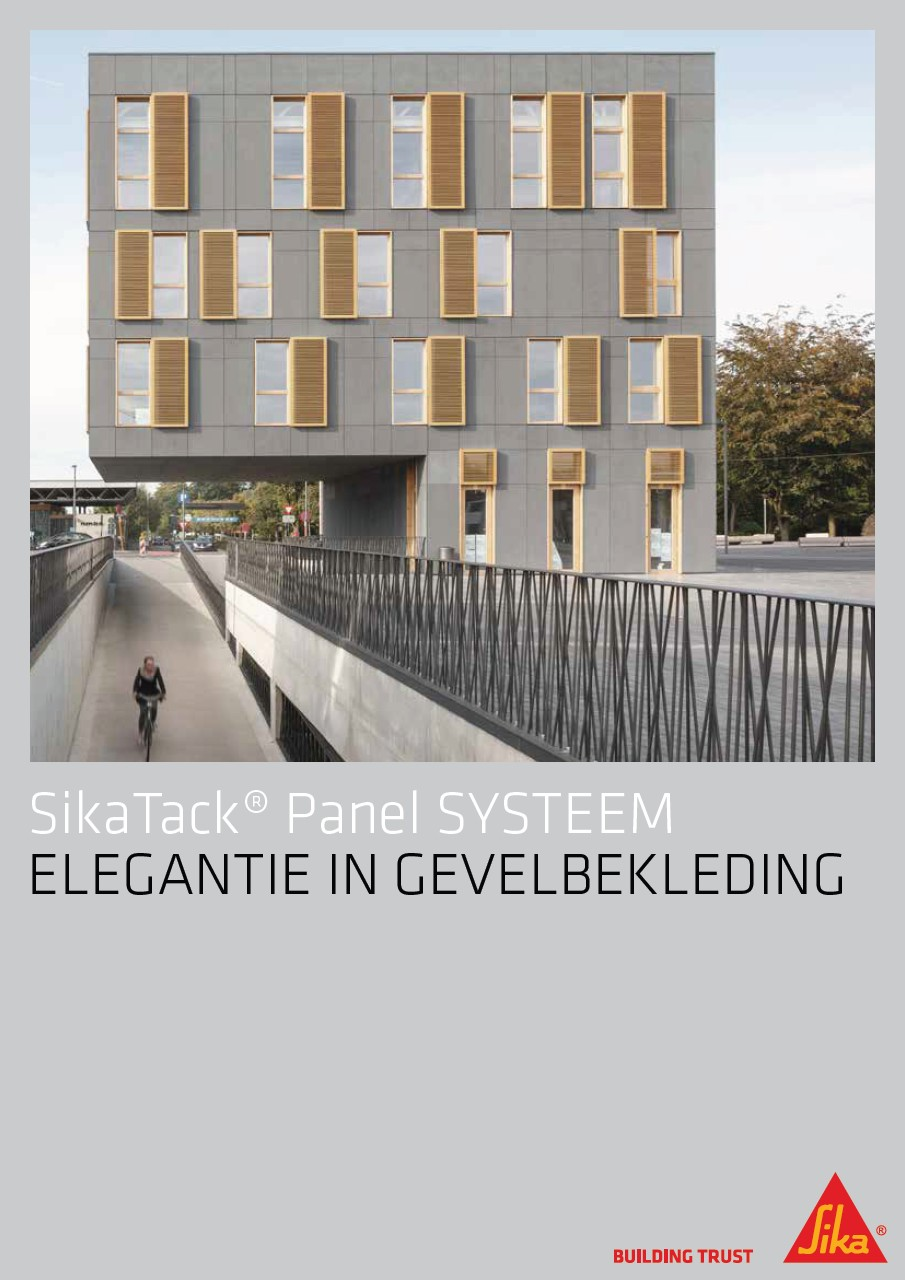 SikaTack® Panel Systeem